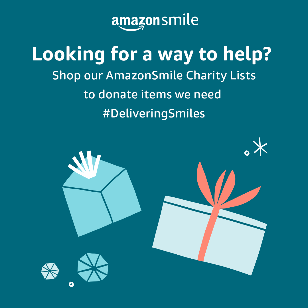 Amazon Delivering Smiles Banner