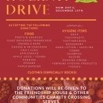 Holiday Drive 2020 – UD