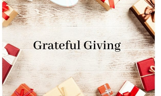 Giving and Gratitude by Sumam Jurczak