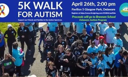 5K Walk for Autism, Glasgow Park, Delaware