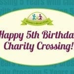 Happy 5th birthday Charity Crossing