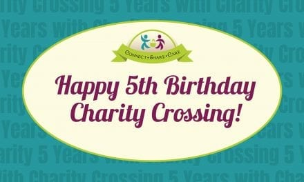 Happy 5th birthday Charity Crossing