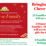 Adopt A Family for Holidays