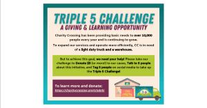 Tripple 5 Challenge flyer