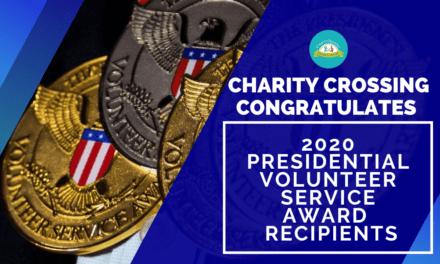 Congrats to 2020 Presidential Volunteer Service Award Recipients